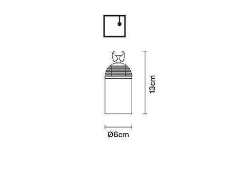 Потолочный светильник Fabbian FREELINE F44 L01/L02, фото 2